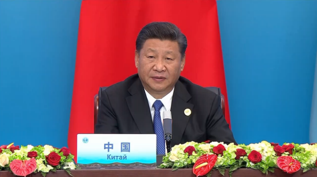 Xi chairs restricted session of SCO summit