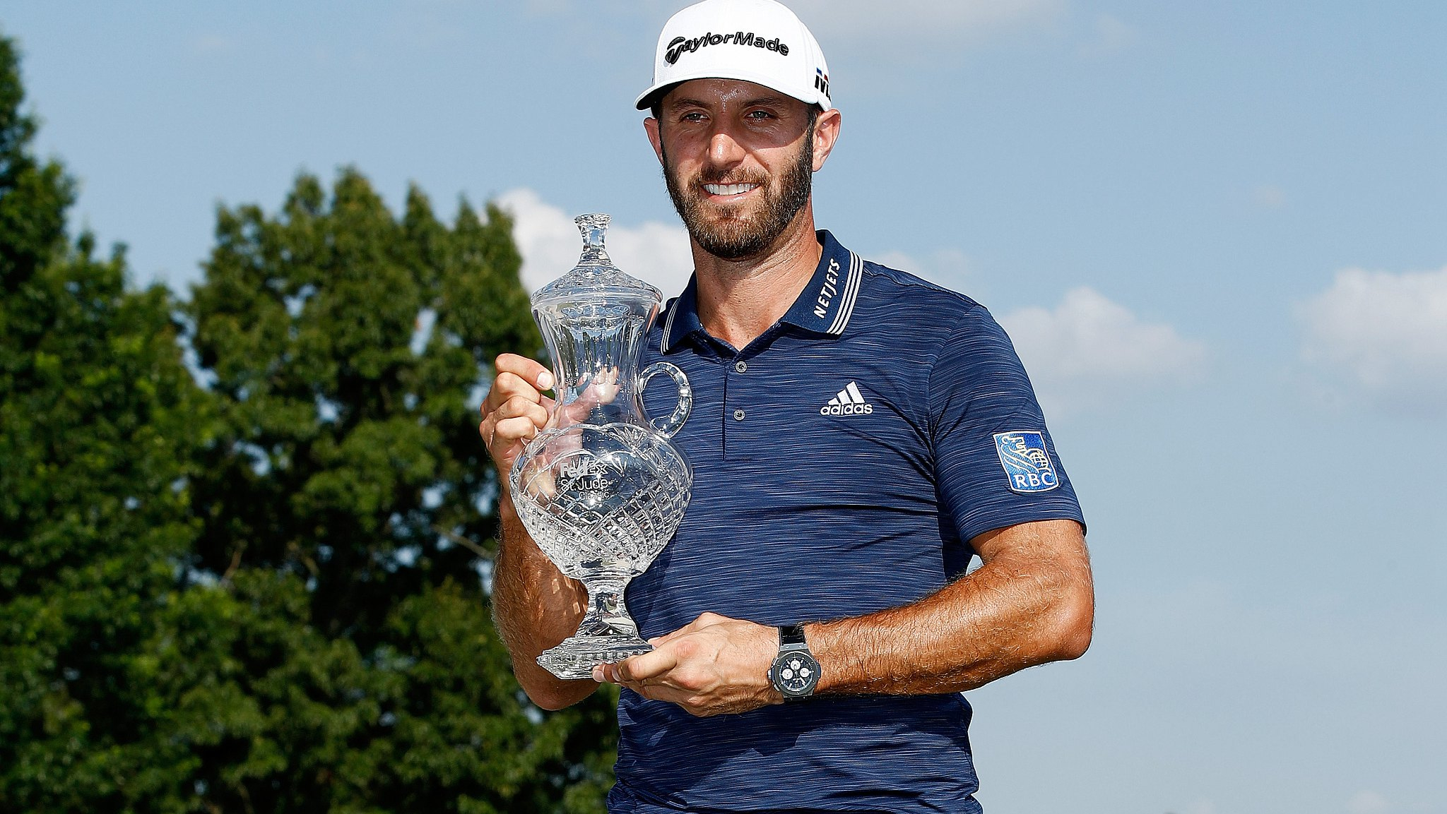 Dustin Johnson reclaims golf's top spot with St Jude win