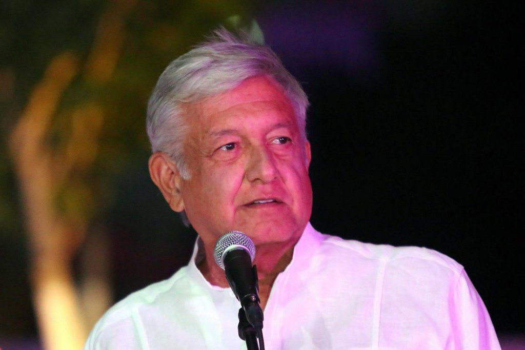 Mexico presidential poll shows big lead for leftist, many undecided