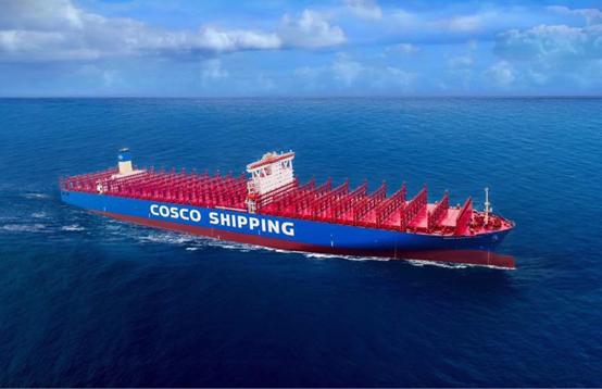 China makes breakthrough in mega-ship production