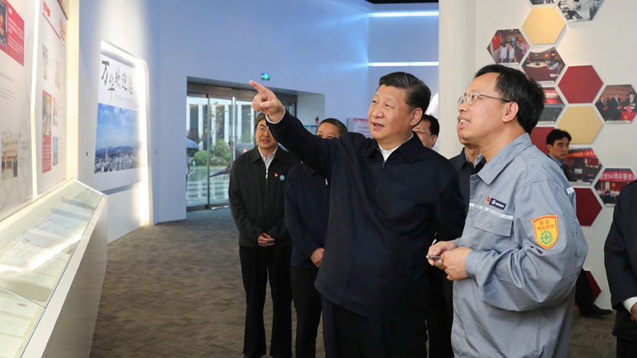 President Xi Jinping urges state-owned enterprises to reform and innovate