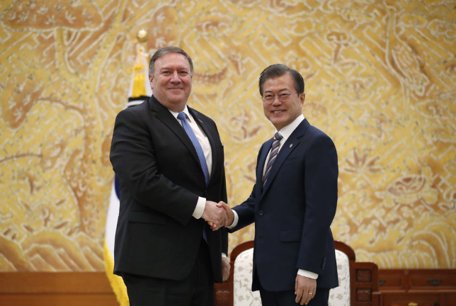 US secretary of state says confident to bring peace to Korean Peninsula