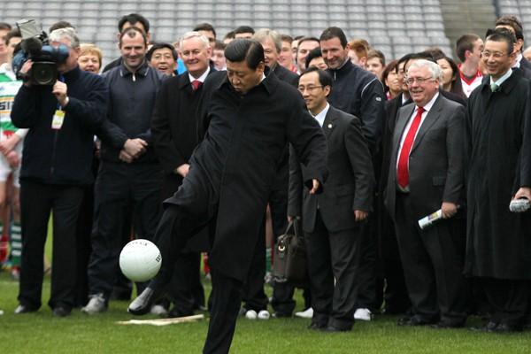 Xi Jinping: I'm a football fan