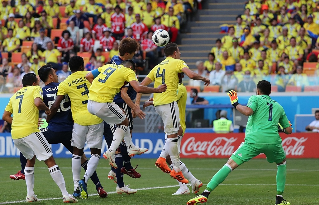World Cup Russia group H: Osako goal put Japan ahead