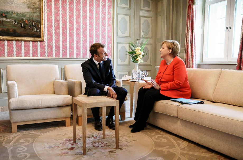 Merkel, Macron back euro zone budget in 'new chapter' for bloc