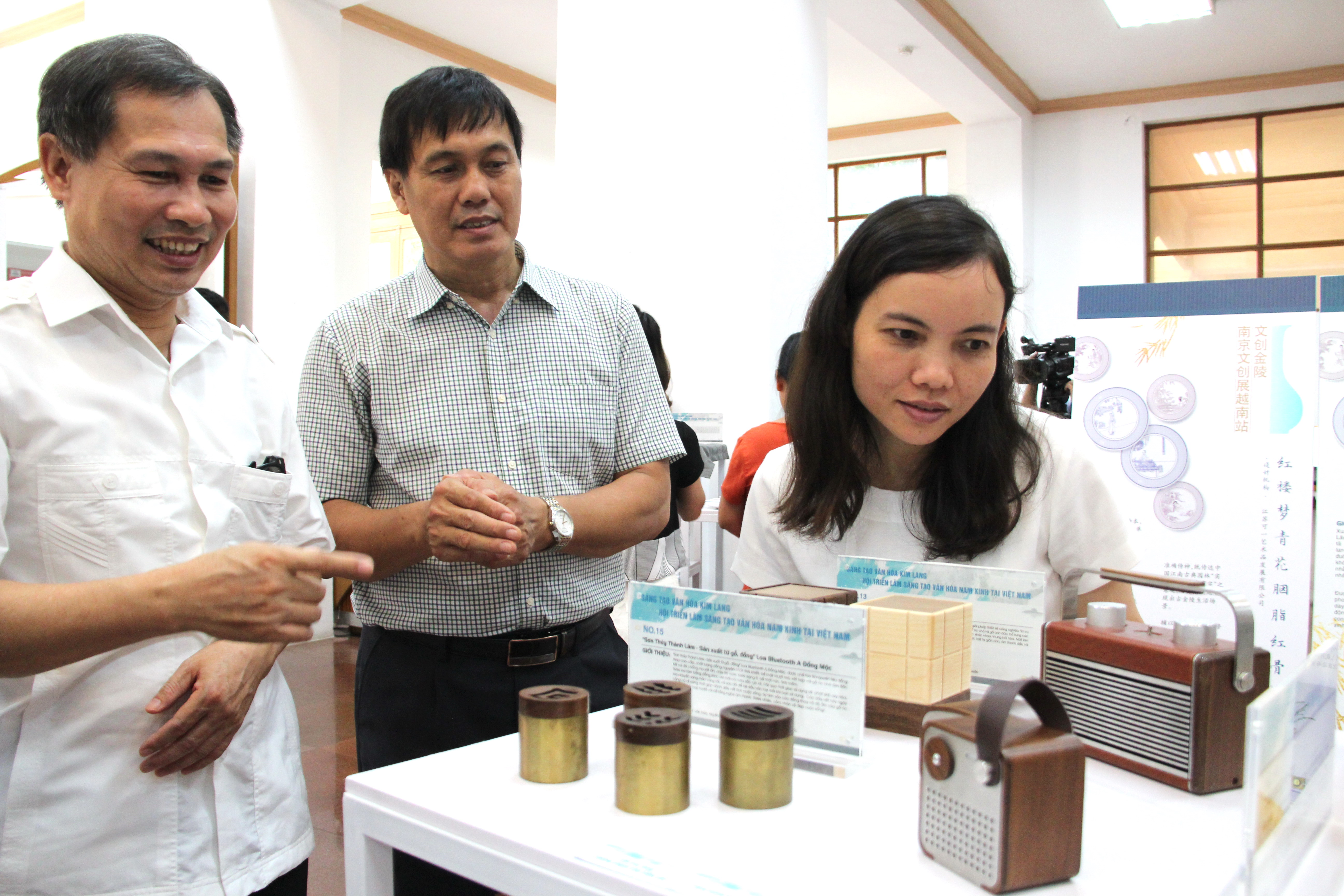 Chinese creative exhibition showcases cultural exchange between Vietnam, China