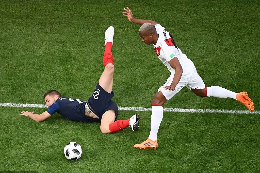 World Cup photos: France takes on Peru in Group C clash