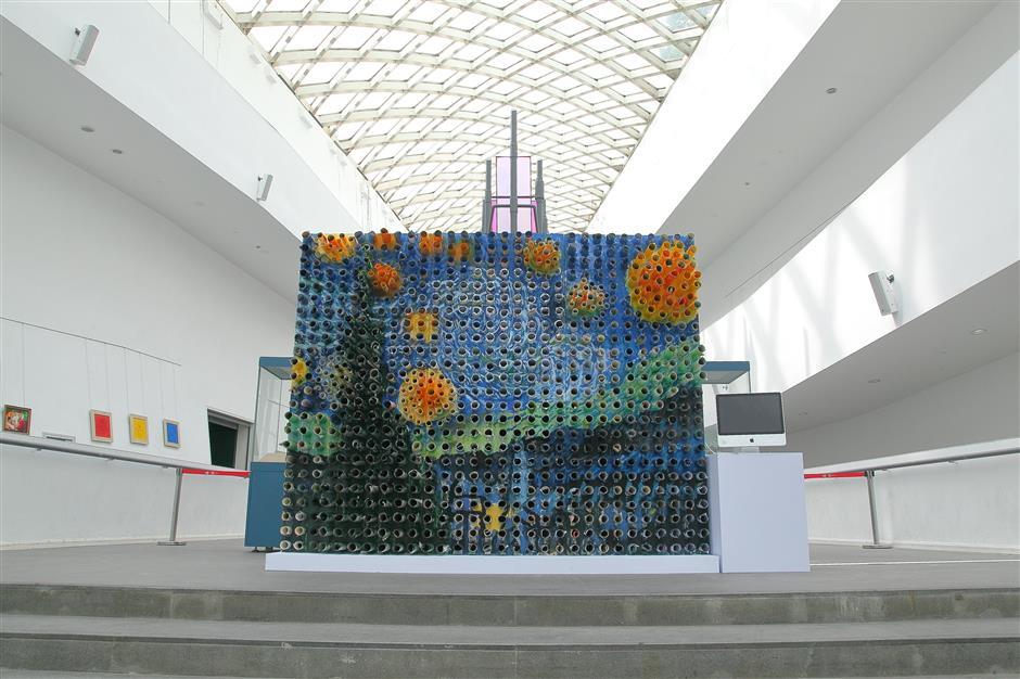 Innovative artists making art from trash