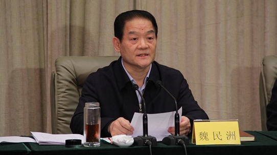 Former Shaanxi official Wei Minzhou stands trial on corruption charges
