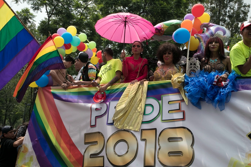 Overwhelming response to Gay Pride Parade in Mexico City