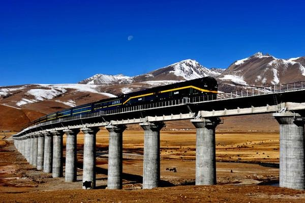 Progress in Qinghai-Tibet Railway the start of closer trade ties between China, Nepal