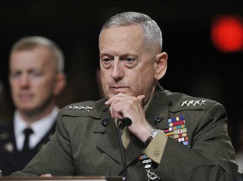 US Defense Secretary James Mattis to visit China from Jun 26 to 28