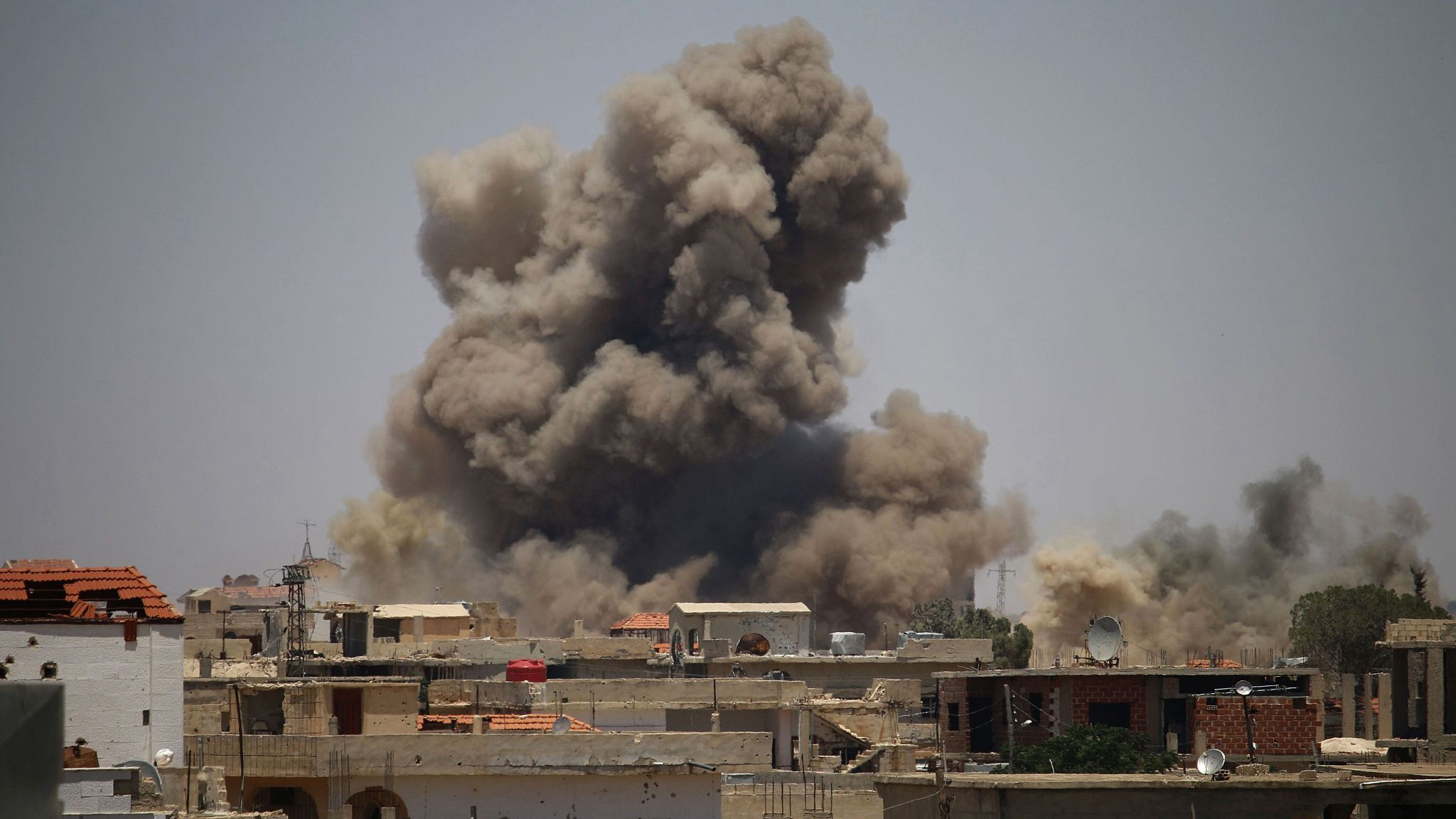 A new war may be brewing in southern Syria
