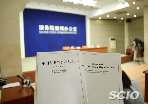 China firmly supports multilateral trading system: white paper
