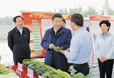 Xi's visits to China's impoverished areas