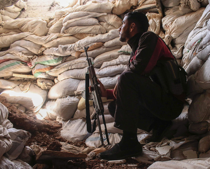 Rebels in 4 Syrian towns accept surrendering to Syrian army