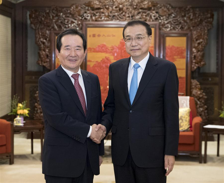 Chinese premier calls on China, ROK to uphold multilateralism, free trade