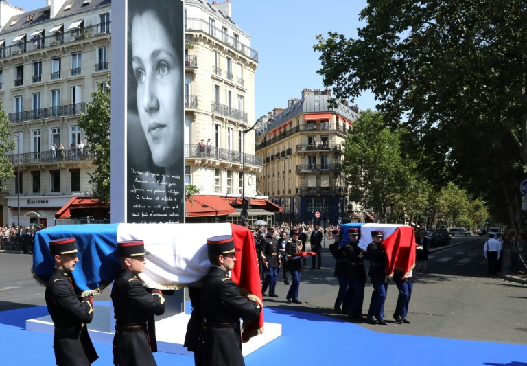 Pantheon burial honours French rights icon Simone Veil
