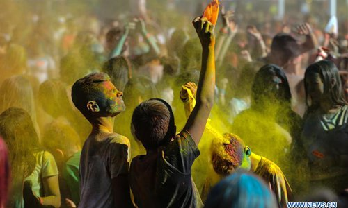 Color Day Festival celebrated at Athens Olympic Stadium in Greece