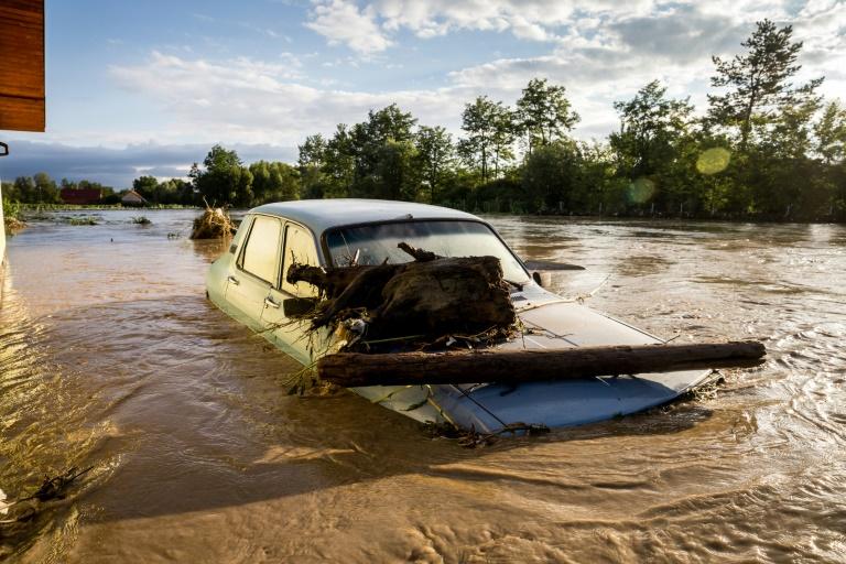 Four dead, hundreds evacuated as torrential rains hit Romania