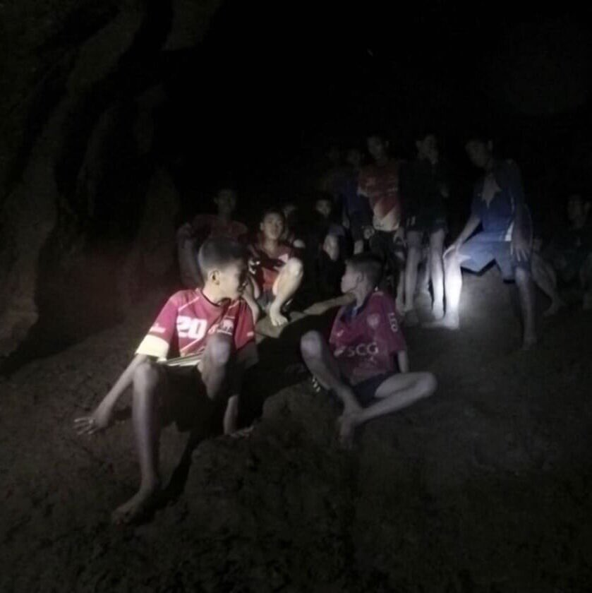 Missing football team found alive in Thai caves: governor