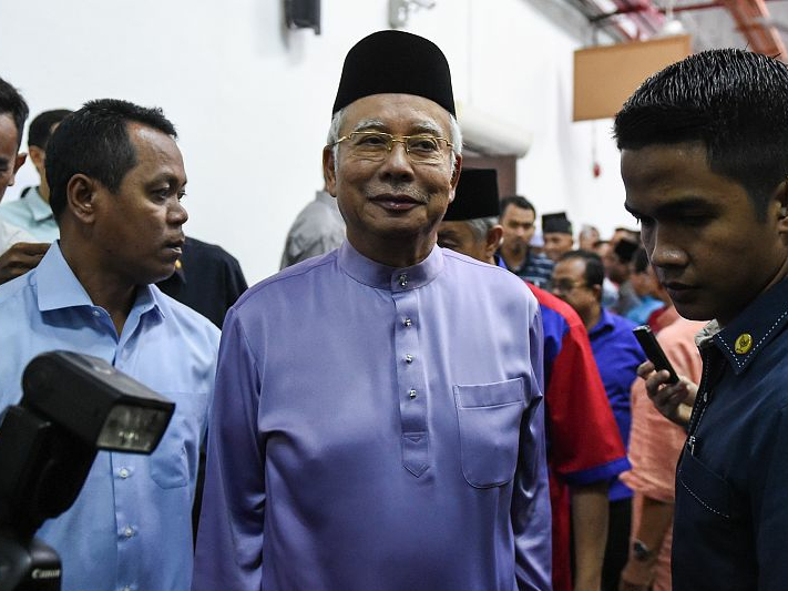 Former Malaysian PM Najib arrested for corruption: police source