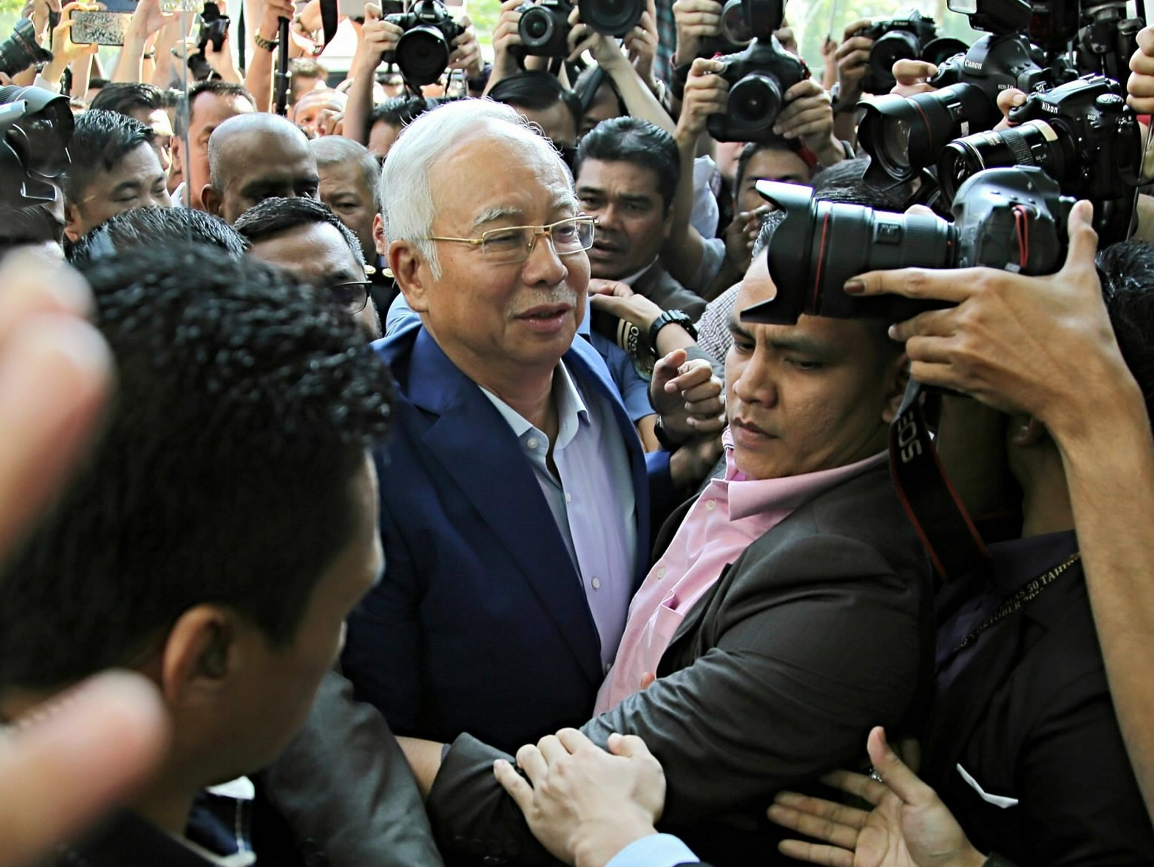 Malaysian ex-PM Najib arrested on corruption charges