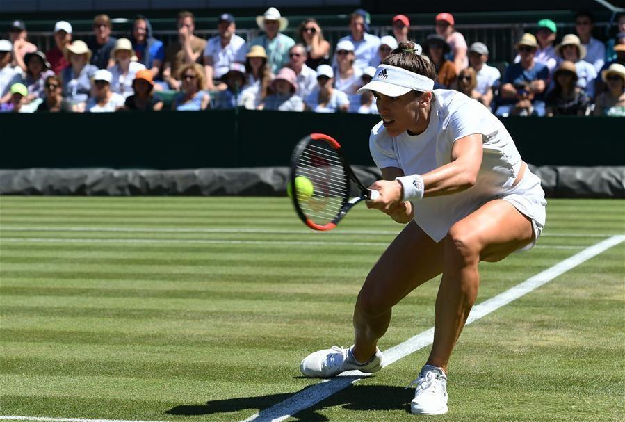 Andrea Petkovic beats Zhang Shuai 2-1 at Championship Wimbledon 2018