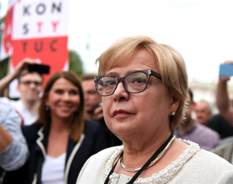 Top Polish judge defies 'purge'
