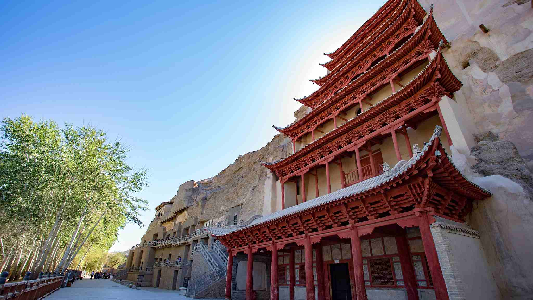 Mogao Grottoes to adopt facial recognition system for entrance