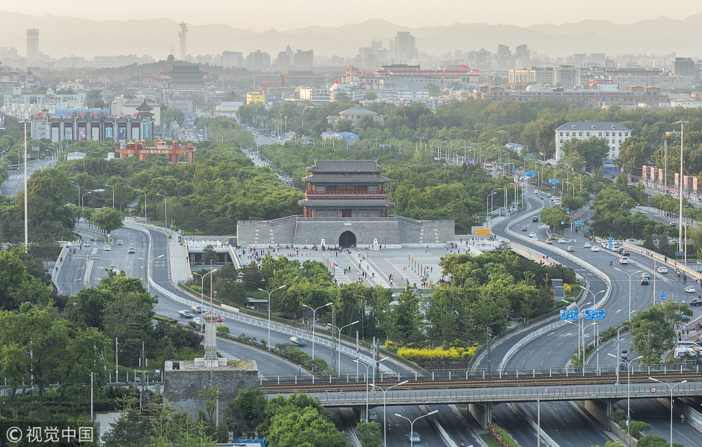 Beijing prepares Central Axis for UNESCO heritage list by 2035