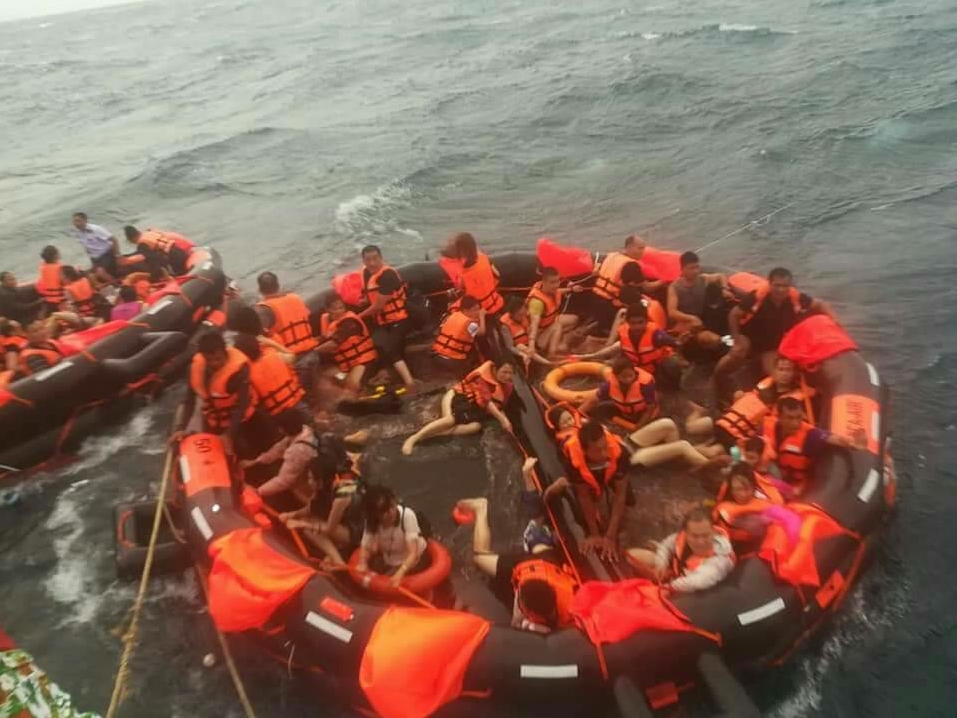 49 missing after tourist boats overturned off Thai tourist island: governor