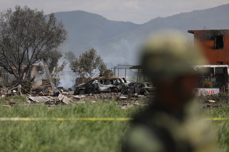 Firework explosion kills 19, injured more than 30 near Mexico City