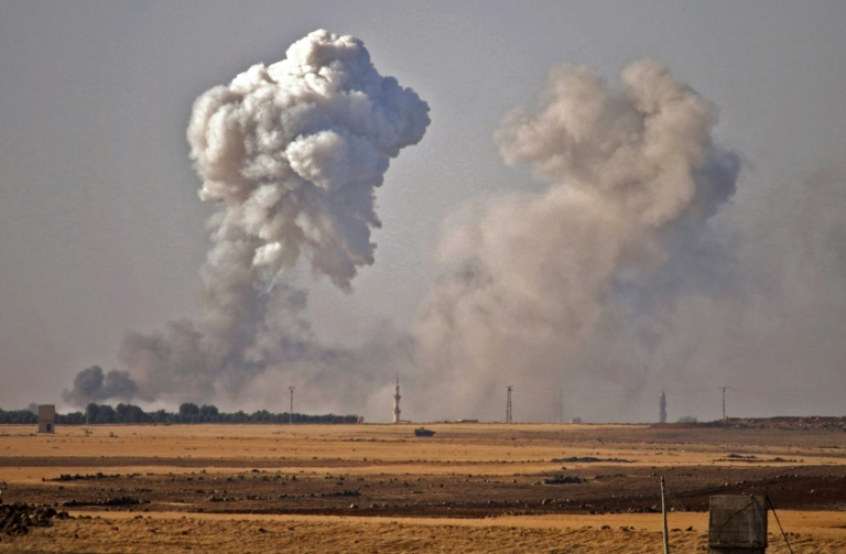 Waves of strikes pound south Syria after talks fail