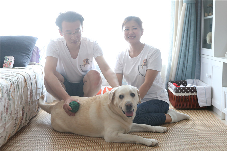 Volunteers help to foster a new generation of guide dogs