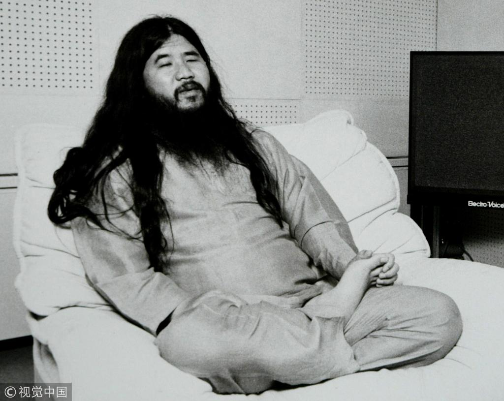 Japan executes sarin attack cult leader and six followers