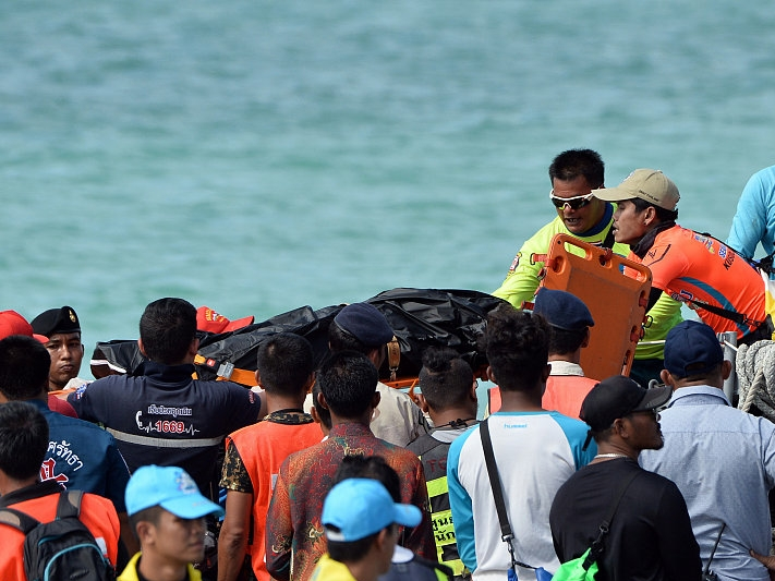 At least 16 Chinese killed in Thai boating accidents