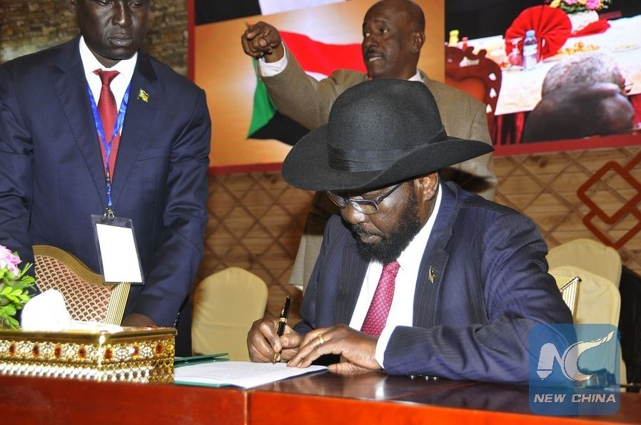 South Sudanese warring leaders meet in Uganda to push for peace process