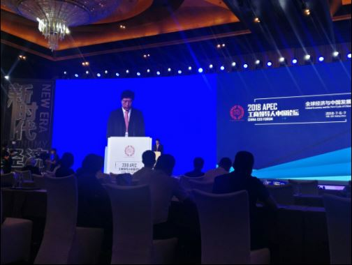 Business leaders denounce protectionism at APEC China CEO Forum