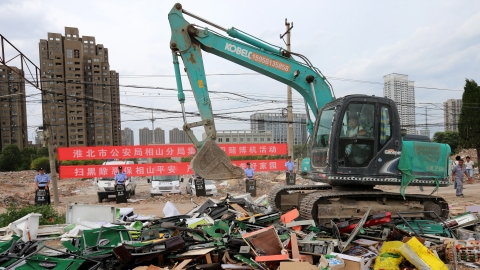 China's excavator sales maintain double-digit growth in June
