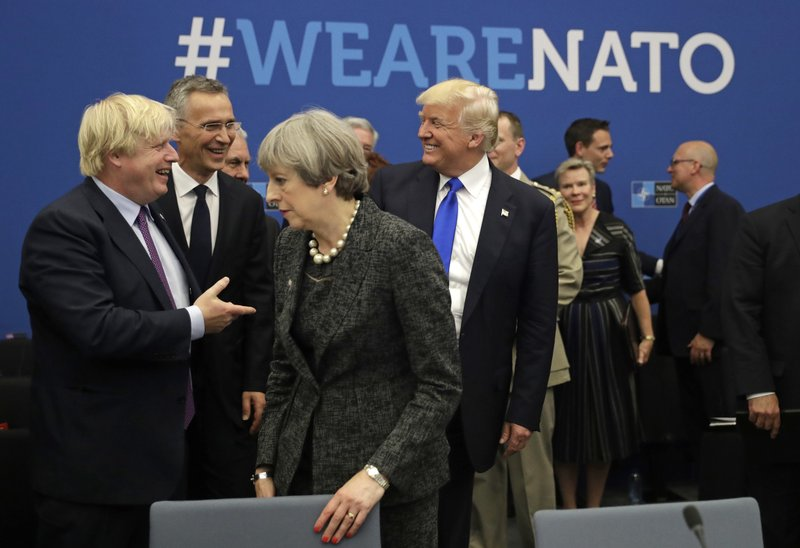 Off to Europe: Trump to meet worried NATO heads, then Putin