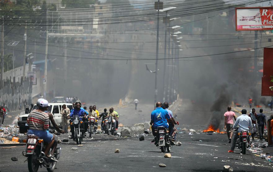 Fuel price hikes spark violent protests in Haiti