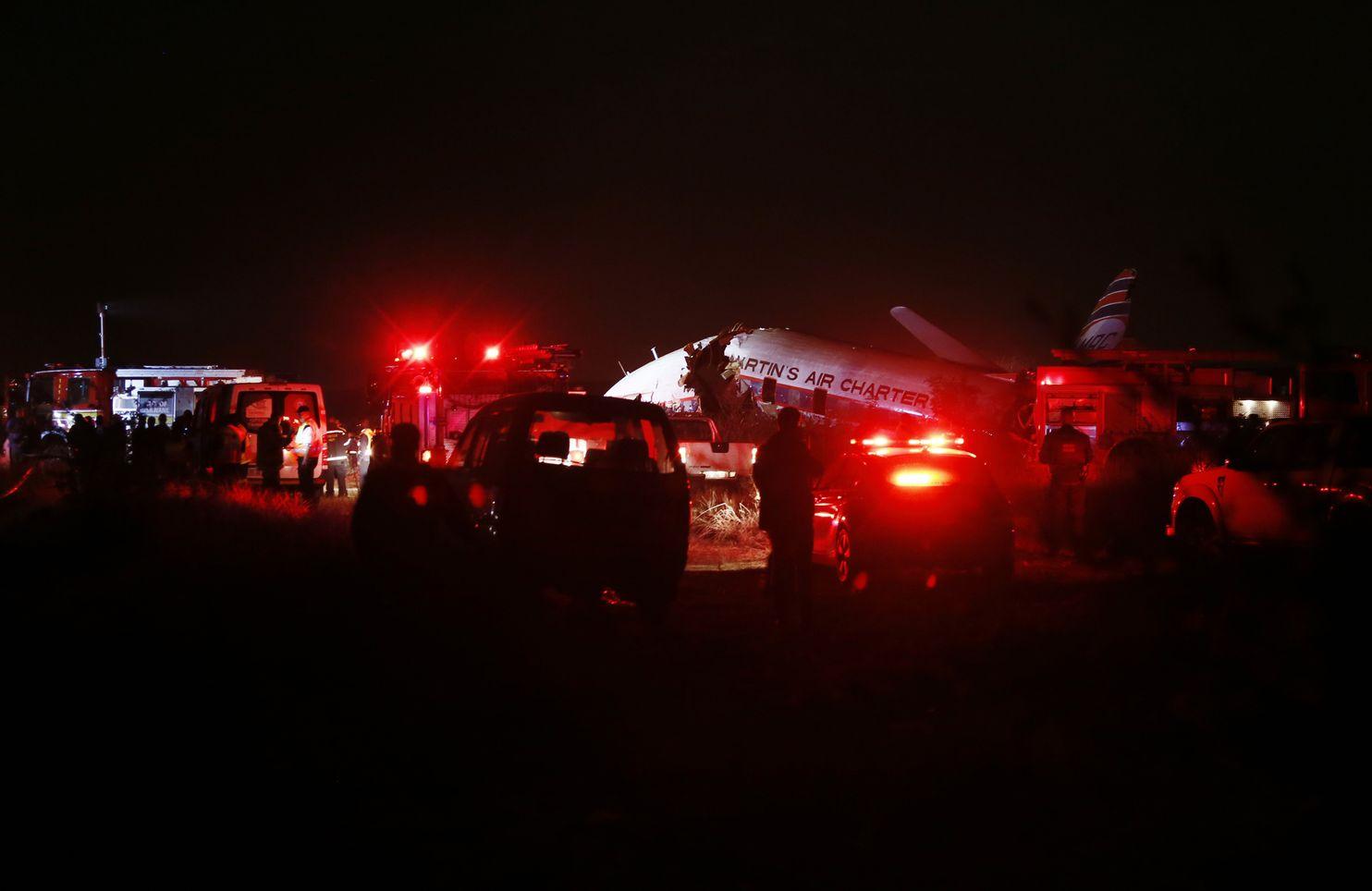 South Africa plane crash kills 1, injures 20