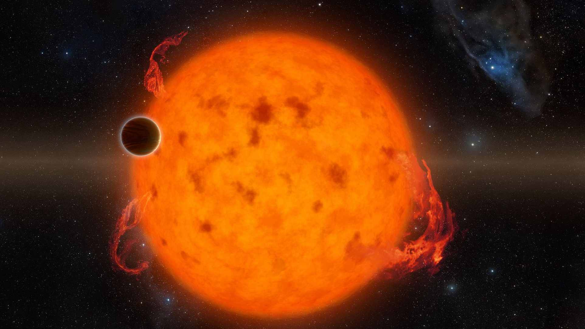 Astronomers capture 5.4-million-year-old newborn exoplanet