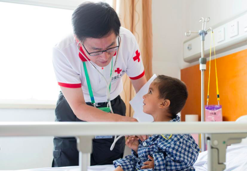 Chinese doctors help Afghan children recover from congenital heart disease