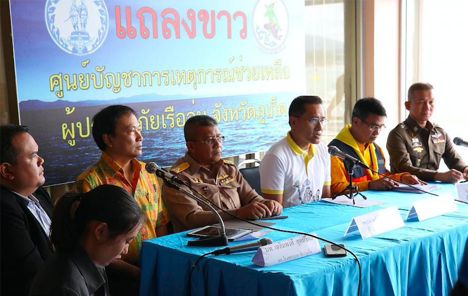 45 dead, 2 missing in Phuket's boat tragedy