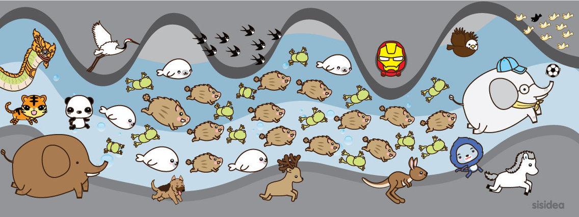 Thai artists create cartoon depicting successful Thai soccer team rescue
