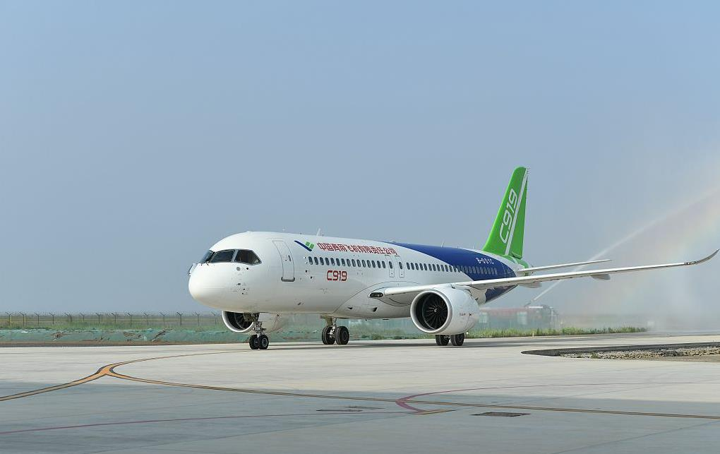 China's C919 project enters intensive flight test phase