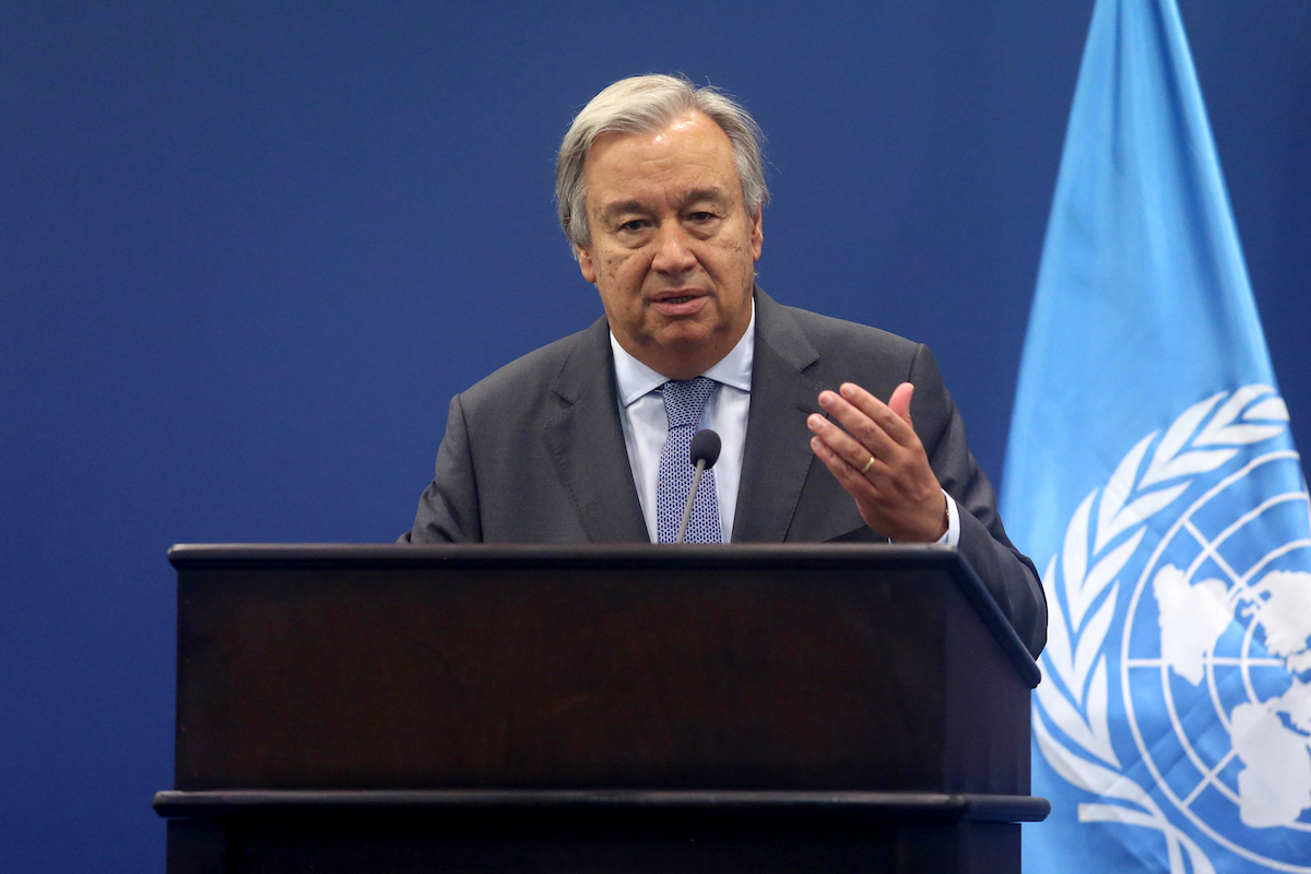 UN head praises 'multilateralism in action' as new compact could emerge
