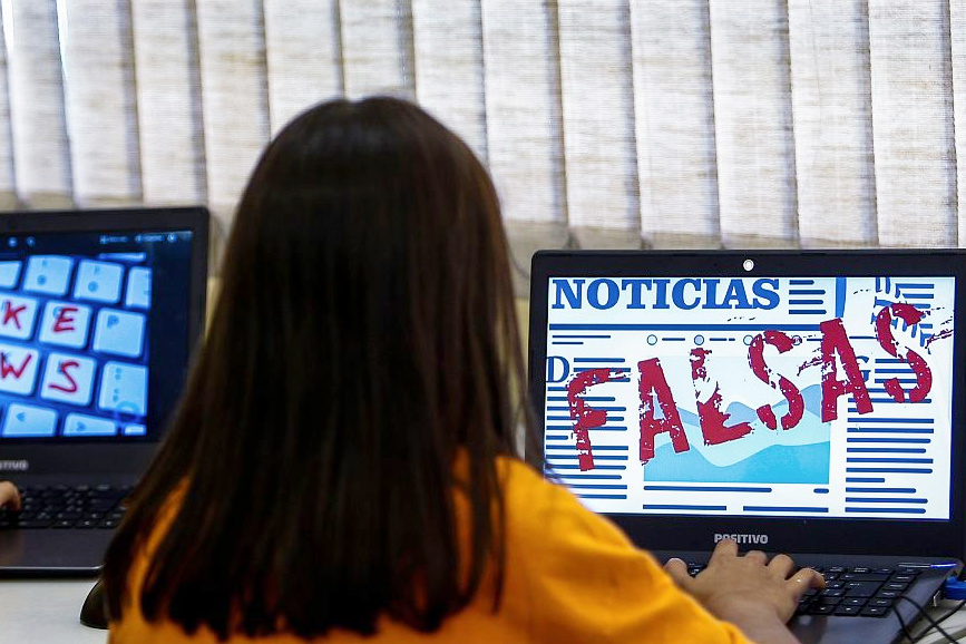 Brazil fighting fake news in the classroom
